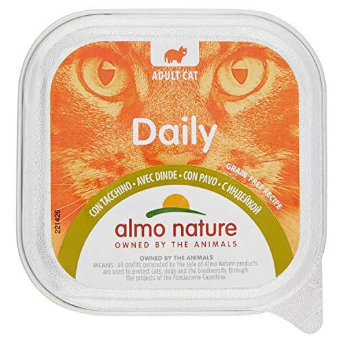 ALMO NATURE bio diario pavo húmedo gato menú 100 gr gr 100 Comida mojado gatos