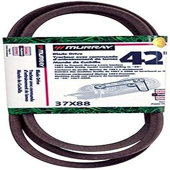 Murray 42 Lawn Mower Blade Belt  97 & Up 37X88MA