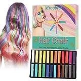 Haarkreide, Haarkreide Kinder, Farbe Haarkreide, Temporär Ungiftig Waschbar Haarfarbe Kamm für...