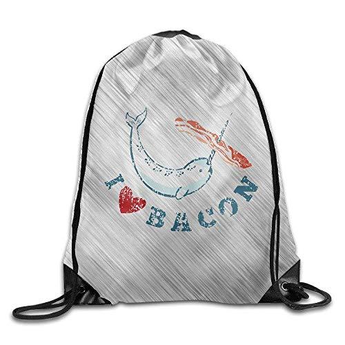 Jiger Flower Garden Red Unisex Lightweight Backpack Gym Drawstring Bag