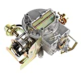 Partol Carburetor Carb 2 Barrel Compatible with Ford Mustang F150 F250 F350 Comet Engine 289 Cu, 302 Cu, 351 Cu Wagoneer 360 Cu - Automatic Choke