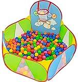 NUBUNI Piscine a Balle pour Bébé : Parc Bébé Balle : Bebe Parc pour Bebe : Tapis Pliable Bebe : Parcs pour bébé : Piscine Pliable Bebe : Piscine pour Enfants