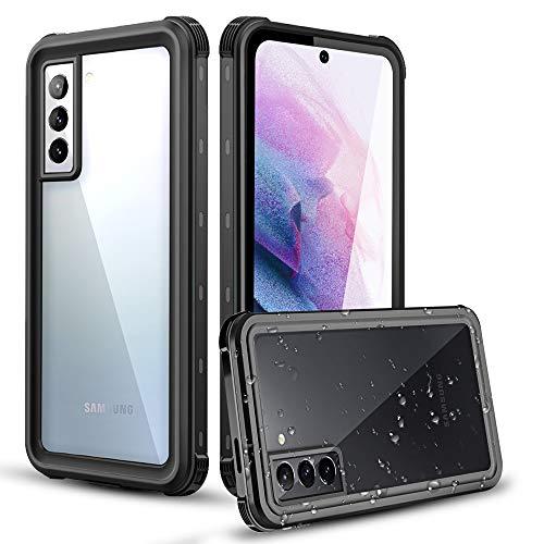 AICase Custodia Impermeabile Samsung Galaxy S21 Plus,Outdoor IP68 Certificato Waterproof Cover Slim Caso Full Protezione Custodia Protettiva per Samsung Galaxy S21 Plus 6.7 inch