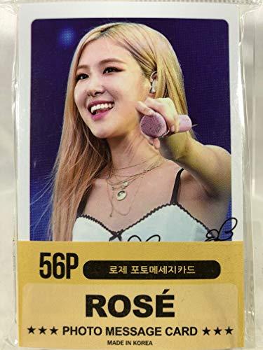 ROSE ロゼ - BLACKPINK ブラックピンク グッズ / フォト メッセージカード 56枚 (ミニ ポストカード 56枚) セット - Photo Message Card 56pcs (Mini Post Card 56pcs) [TradeP