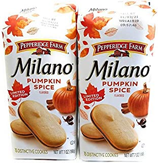 Pumpkin Spice Milano Cookie Bundle (2 items)