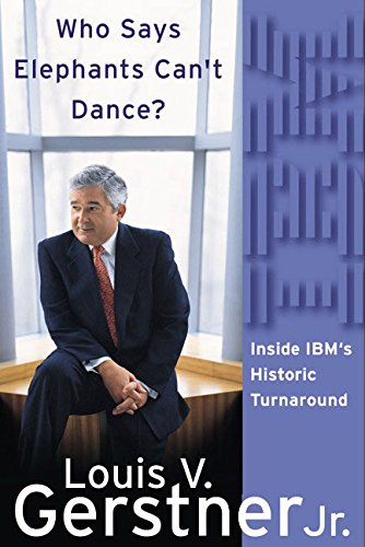 Who Says Elephants Can't Dance?: Inside IBM's Historic Turnaroundの詳細を見る