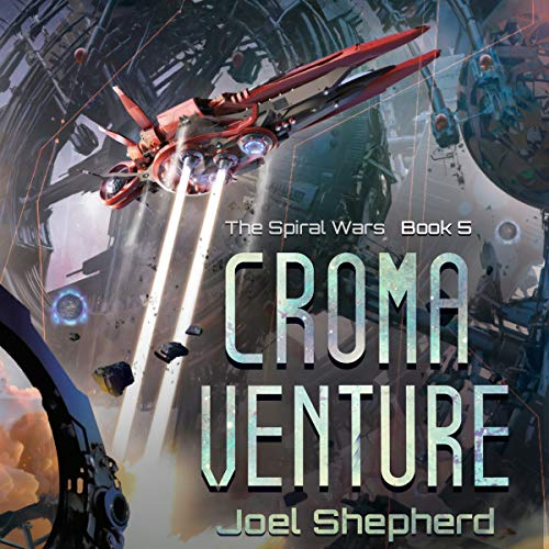Croma Venture audiobook cover art