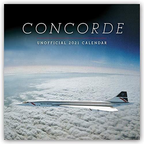 Concorde 2021: Original Carousel-Kalender [Mehrsprachig] [Kalender] (Wall-Kalender)