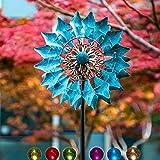 Molino de Viento Solar Celeste 75 pulgadas (1.9mm) ᅳ Luz LED Multicolor para...