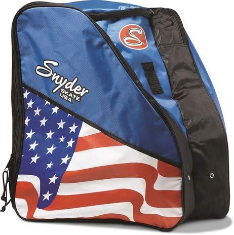 Snyder Skates American Flag Roller Skate Bag / Backpack