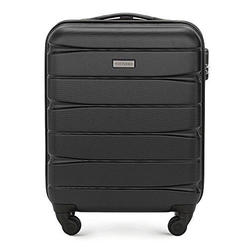 Stabiler Hartschalen - Koffer-Trolley Handgepäck Leichtgewicht | 55x20x39cm | 33L | 2,9kg 56-3A-361-10