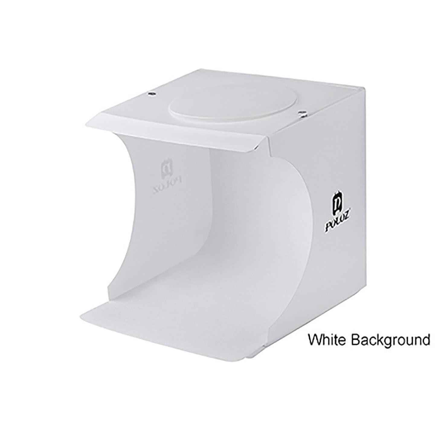 HOUSINGLOVES Mini LED Light Room Photo Studio Photography Lighting Tent Backdrop Cube Box