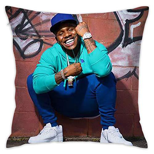 ZAZAHUI Dababy Pillowcase Multicoloured Generalduty Pillow Case Size 18 X 18 Inch / 45 X 45 cm
