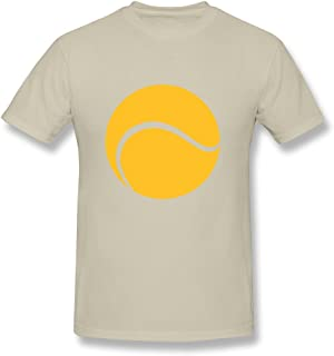 KEMING Men's Tennis Ball T-shirt