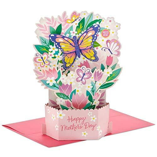 Hallmark Paper Wonder Muttertagskarte mit Sound und Bewegung (Schmetterling-Garten)