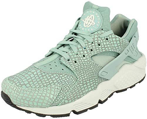 Nike Wmns Aire Huarache Run Estampado, Mujer Zapatillas - Cannon Puro Platino 006, 4 UK/37.5 EU/6.5 US