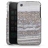 DeinDesign Coque Compatible avec Apple iPhone 3Gs Étui Housse marbre Marble Pierres précieuses