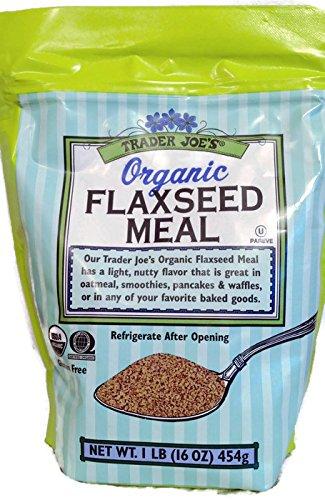 Trader Joe's Organic Gluten Free Flaxseed Meal 1lb (16 oz)