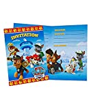 PAW Patrol Party Invitations, 16ct