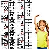 Growth Chart Height Indicator Tape Ruler Height Growth Chart Ruler Height Indicator Adhesive Ruler for Measuring Kids Boys Girls