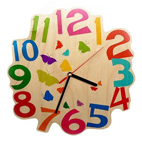 Hess 30002 - Papillons Horloge murale