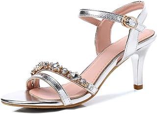 BalaMasa Womens ASL06431 Pu Fashion Sandals