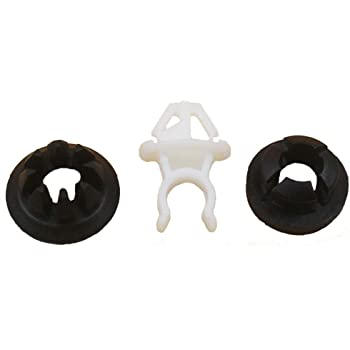 Amazon Com 3pcs Lot Hood Support Prop Rod Holder Clip 91503 Ss0 003 For Honda Accord Odyssey Prelude Automotive