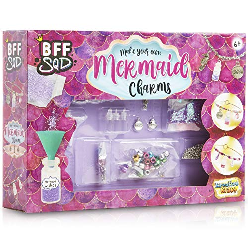 KreativeKraft Arts And Crafts For Kids To Make Charm Bracelets, Craft Sets For Girls To Make Your Own Friendship Bracelets, Jewellery Making Children Toy Age 6 7 8 9 10 11 12 +