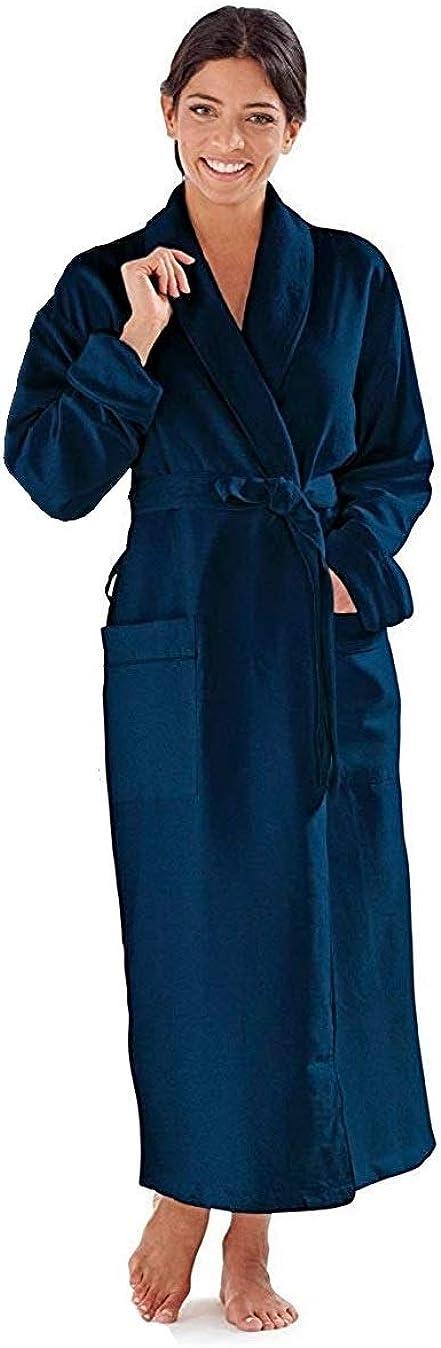 Boca 4 years warranty Terry Women's Robe Luxury Bathrobe Hotel Long service Microfiber