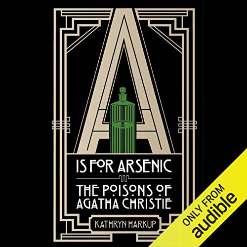 A Is for Arsenic audiobook cover art