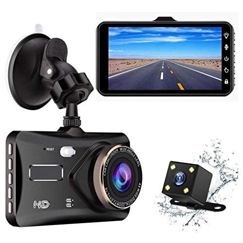 QXHELI Autokamera Dash Cam Für Autos Der Nachtsicht-Auto-Fahrenrecorder HD Screen-Weitwinkel Mit Parkplatz-Monitor WDR Loop Recording G-Sensor Bewegungserkennung