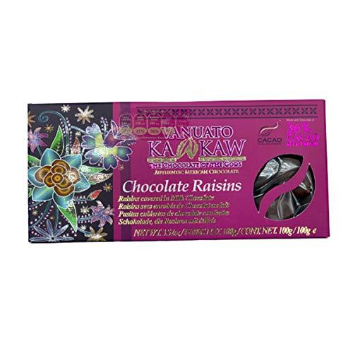 Chocolate Raisins (pasas cubiertas de chocolate con leche) 5 piezas de 100 g.