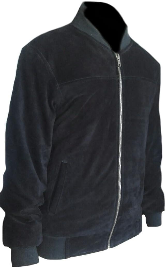 Sleekhides Men's Fashion Bomber Leather Jacket