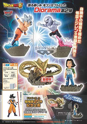 Banpresto Dragon Ball Super World Collectable Diorama Vol.2 Goku Ultra Instinct Super Shenron Jiren Android 17