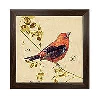 PLLP ベッドルームは、リビングルーム、ホテル、家の壁の装飾、レトロな花と鳥の写真ウォールレストランポーチ装飾は、クリエイティブコンビネーション描画H絵画ハンギングリビングルームの背景の壁の絵画を絵画