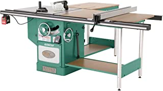 """Grizzly Industrial G0652-10"""" 5 HP 3-Phase Heavy-Duty Cabinet Table Saw with Riving Knife"""
