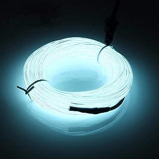 de luz de neón inalámbrica de 3m, Kit electroluminiscente