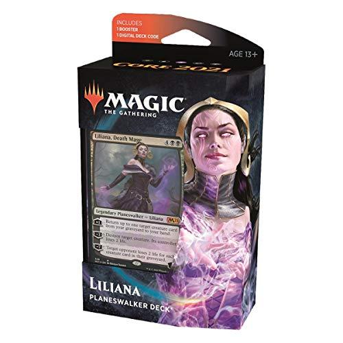 MTG Core Set 2021 Planeswalker Deck Englisch, Liliana, Death Mage, Magic: The Gathering