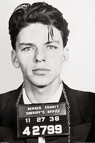 Frank Sinatra - Mugshot Laminated Poster Print (60.96 x 91.44 cm)
