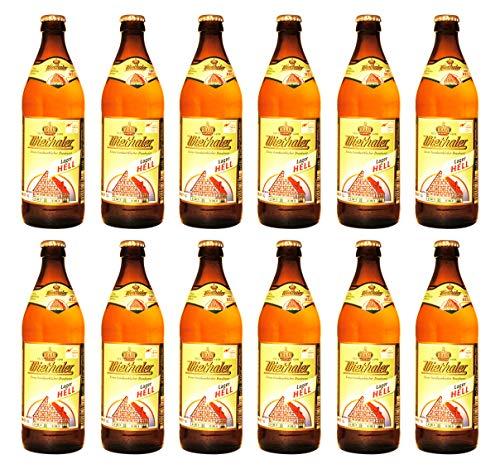 Brauerei Wiethaler - Lager hell (12 Flaschen) I Bierpaket von Bierwohl