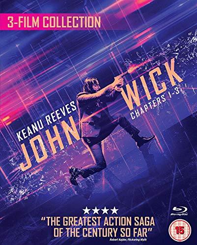 John Wick 1/2/3 Triple Boxset (3 Blu-Ray) [Edizione: Regno Unito] [Italia] [Blu-ray]