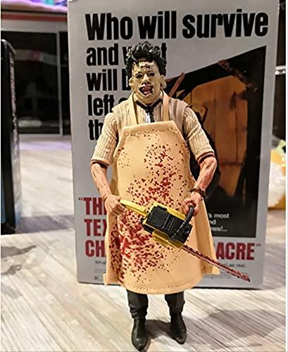 bolin Figura De Leatherface Motosierra Masacre Figura De Acción Película De Terror Muñeca De Juguete