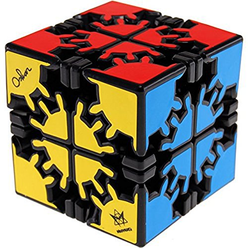 Meffert's David's Gear Cube - Black Body
