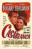 RPW Casablanca Vintage Romantisches Filmposter