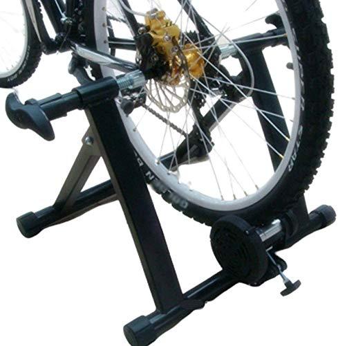 Ancnan Soporte para Entrenador de Bicicleta de Interior para el hogar, Entrenador Turbo para Bicicleta Soporte para Entrenador de Ejercicio estacionario Soporte para Bicicleta Plegable Zapatillas d