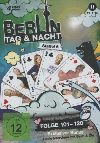 Berlin - Tag & Nacht, Vol.  6: Folgen 101-120 (4 DVDs)
