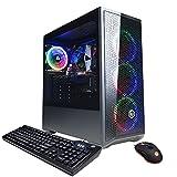 CYBERPOWERPC Gamer Xtreme Gaming PC, Intel Core i3-10105F 3.7GHz, Intel Iris Xe 4GB, 8GB DDR4, 500GB NVMe SSD, WiFi Ready & Win 10 Home (GXi8800A4)