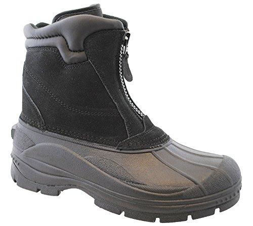 Totes Men's Comfort Snow Boot, Black, 9