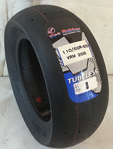 Neumático radial sin cámara Vee Rubber VRM266, 110/50 R-6.5, paraminimoto