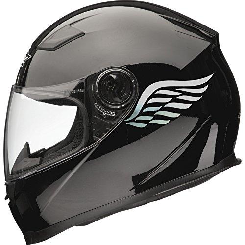 Xaevon Calcomanías Adhesivas para Casco de Moto Angel Wings (par), 80 mm...